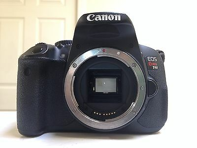 Canon EOS Rebel T4i / 650D 18.0 MP Digital SLR Camera - Black (Body Only)...