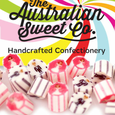 Gourmet Bride Groom Rock Candy Boiled Bulk Lollies - Wedding Party Favours