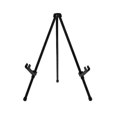 """US Art Supply 14"""" Tall Black Steel Tabletop Instant Display Office Easel"""