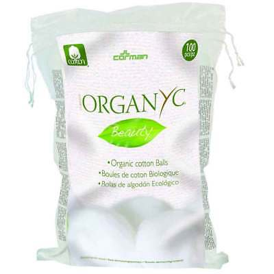 Organyc Beauty Cotton Balls (100) | BRAND NEW