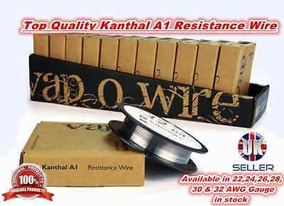 Kanthal A-1 Resistance Wire - All Gauges Size Available - 2 or 5 Metres