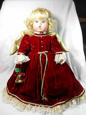 """Goebel Angel Doll by Bette Ball  """"Sweet Melody""""  Musical Porcelain"""