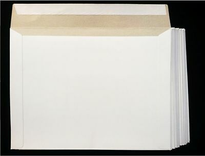 25 CARDBOARD DOCUMENT MAILER ENVELOPES 12.5 x 9.5 Free Shipping