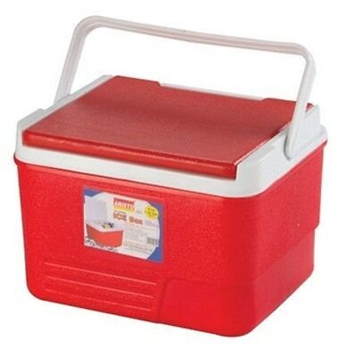 6L Coolbox Red Or Blue Cooler Box Camping Beach Picnic Ice Food Insulated Travel