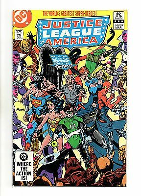 Justice League of America Vol 1 No 212 Mar 1983 (VFN+) Modern Age (1980 - Now)
