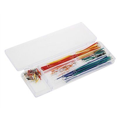 140 Pcs Solderless Flexible Breadboard Jumper Cable Wires for Arduino LW SZUS