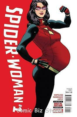 Spider-Woman #1 (2015) 1St Printing Bagged & Boarded