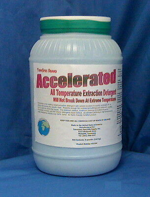 Accelerated Cool Mint Carpet Extraction Detergent Truckmount Portable 40 lbs