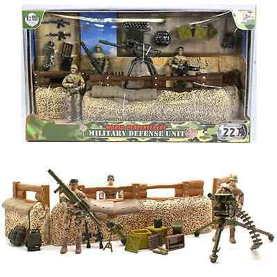 World PeaceKeepers Army Military Defence Unit Toy Playset Army Figures 3+ Years