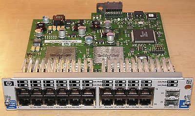 J4908A HP ProCurve Switching Module 20 x 10/100/1000Base-T - 2 x SFP (mini-GBIC)