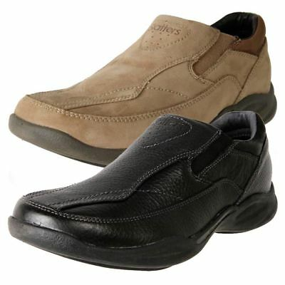 Brand New Slatters Men's Leather Comfort Slip On Casual Shoe Relax