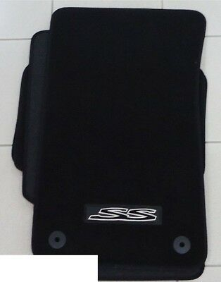 Genuine Holden New SS Black Floor mats set of 4 to suit VE SS Commodore