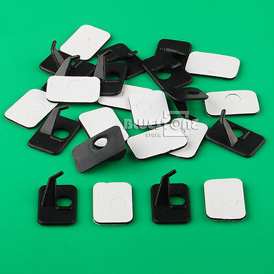 12 Black Arrow Rest Compound Longbow Recurve Bow Adhesive Right Hand Plastic