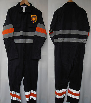 Used High Visibility Proban Cotton Rich Flame Retardant Overalls
