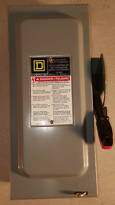 Square D H321Nrb Safety Switch 240 Vac 3 Pole 30 Amp (TP)