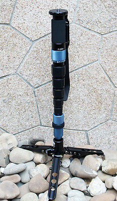 Sirui P-326SR Carbon Fiber Monopod w/ Three Stand Feet & Carry Case USA Shipping