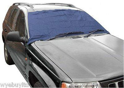 Large windscreen frost cover protector for 5 door Suzuki Ignis MPV winter cover