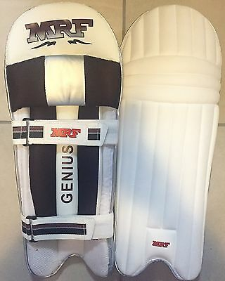 MRF Genius Moulded Light Weight Cricket Batting Pads + Free Ship