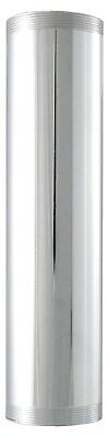 LDR 505 6220 1-1/2-Inch x 6-Inch Threaded Tube, Chrome Plated Brass