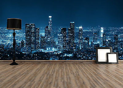 Prepasted Mural Wallpaper Wallcovering Photo Wall Room Decal City View BZ571