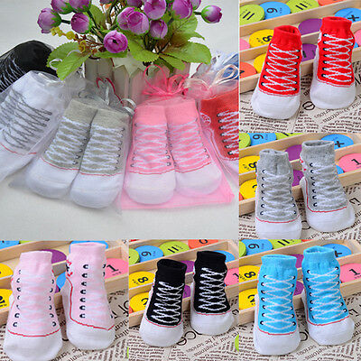 Toddler Infant Newborn Warm Indoor Cotton Boots Baby Sole Shoes Soft Socks Hot