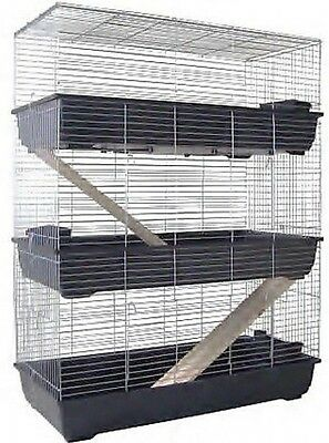 Guinea Pig Cage Rabbit Hutch 3 floors cage 1 M
