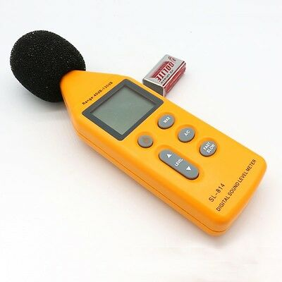 Digital Sound Level Decibel Meter Pressure Noise Tester Measurement New UK Stock