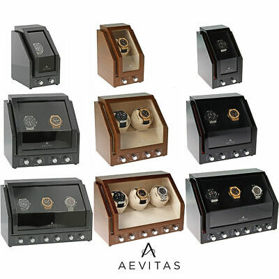 Superior Quality Aevitas Watch Winder Silent Japanese Motors 2 Year Guarantee