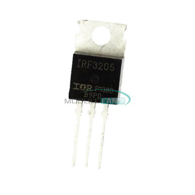 50Pcs Irf3205 3205 N-Channel 110A 55V Mosfet