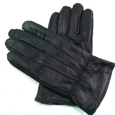Ladies Womens High Quality Super Soft Real Leather Gloves Winter Warm Driving