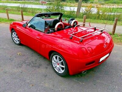 Fiat Barchetta- stainless steel boot luggage rack