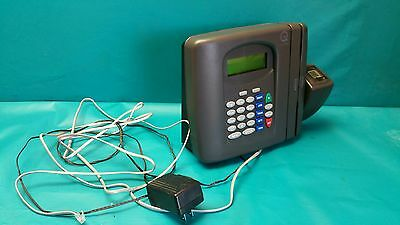 USED Qqest INFINISOURCE TIME CLOCK MODEL 600M