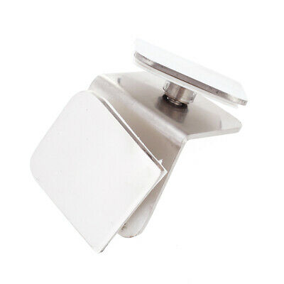 90 Degree Square Shape Stainless Steel Window Glass Bracket Clamp Clips