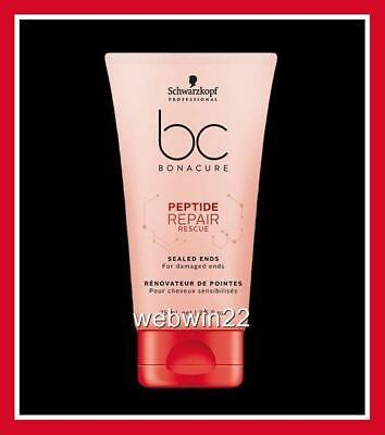SCHWARZKOPF BONACURE BC Repair Rescue sealed ends 75ml damaged hair treatment