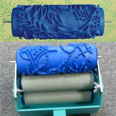 Empaistic Texture Pattern Wall Painting Paint Roller Brush Machine Decor Tool