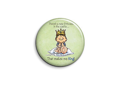 Naissance - New princess 1 - Badge 25mm Button Pin