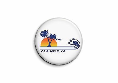 USA - Los Angeles 1 - Badge 25mm Button Pin