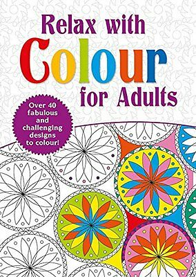 Really Relax With Colouring Book For Adults - Over 40 fabulous Designs to Colour
