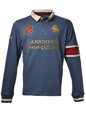 Lansdown Men's Foxmoore Rugby Shirt S - 4XL