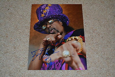 BOOTSY COLLINS signed Autogramm  In Person 20x27 cm