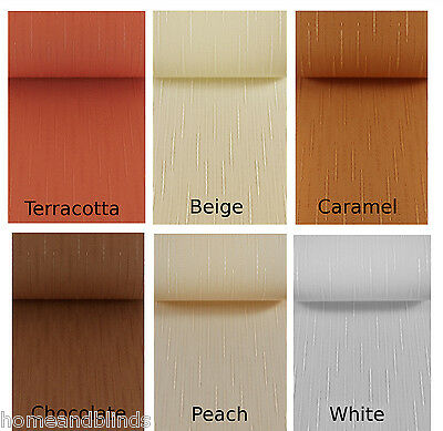 Replacement Vertical Blind Slats 99p White, Cream, Brown, Peach, CHEAPEST