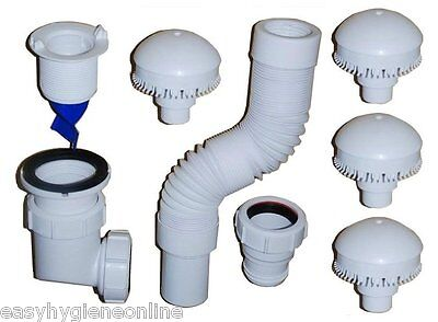 """Streamless - 2"""" Waterless No Water Urinal System Kit Annual Starter Pack 2 inch"""