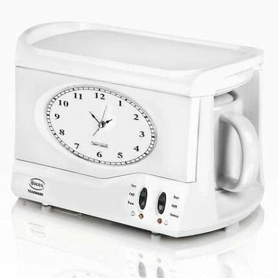 Swan Retro Vintage Teasmade STM201N Tea Coffee Maker Alarm Clock STM201