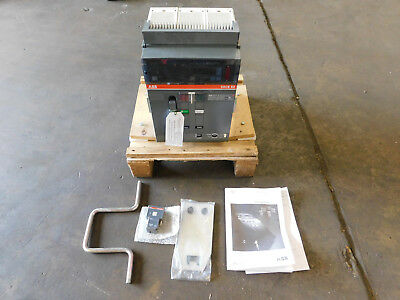 NEW ABB SACE E2N-A 16 Emax Low Voltage Air Circuit Breaker 1600A Frame Size NEW