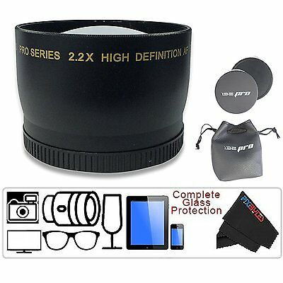 I3ePro 58MM 2.2X Telephoto Zoom Lens for Canon EOS Rebel T6i T6s T5i T5 T4i T3i