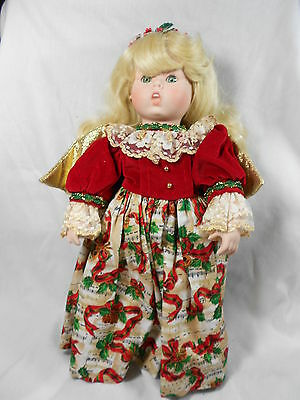 "Goebel Angel Doll by Bette Ball  "" Heavenly Harmony ""  Musical Porcelain"