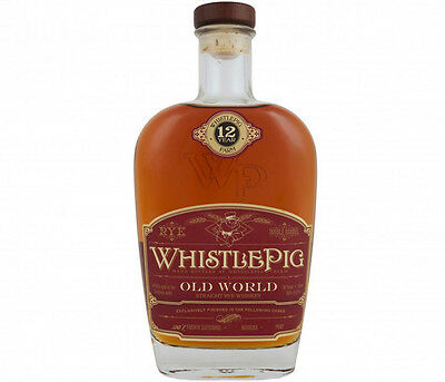 Whistle Pig 12 Year Old Rye Old World Sauternes Cask Rye Whiskey 750ml