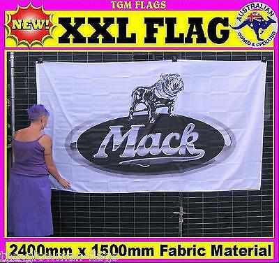 MACK flag truck flag for house wall pole sports event man woman cave