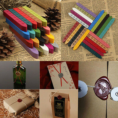 Sealing Wax Stick Seal Candle Wedding Invitations Envelope Letter Party Card