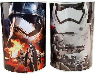 Set Of 2 Star Wars Round Money Box Tin